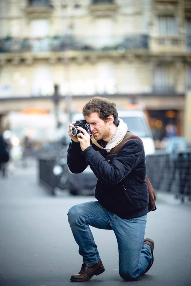 Maxime Fardeau photographe mariage argentique Paris